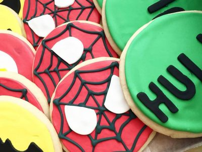 superhero cookie